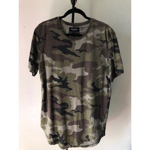 Pacsun Army Ripped Shirt